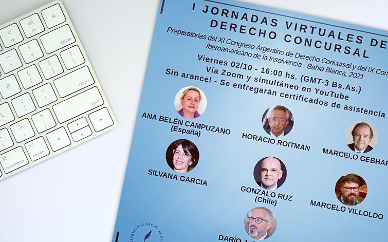I Jornadas Virtuales de Derecho Concursal