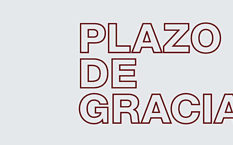 PLAZO DE GRACIA PRESENTACIÓN DE PONENCIAS